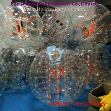 human sized large inflatable soccer bubble ball