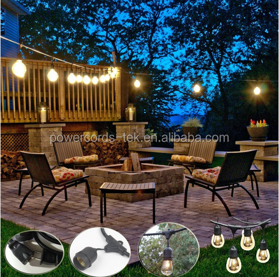 Beautiful patio lantern party decorative string lights led
