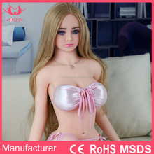 125CM Full Size Real Big Breast Young Silicone Mini Sex Doll for Men