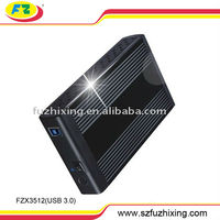 3.5'' hdd external caddy support 2TB hard drive disk