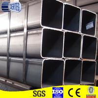 The plastic is strong mild steel square pipe/tube,square steel pipe