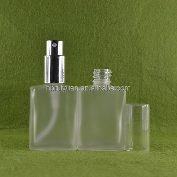 New Replacement Refillable Spray Atomizer Empty Flint Glass Perfume Bottle