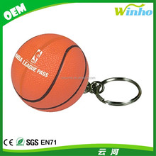 Winho Basketball Key Chain Stress Ball