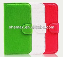 battery back cover for samsung galaxy s3 i9300 Leather Wallet