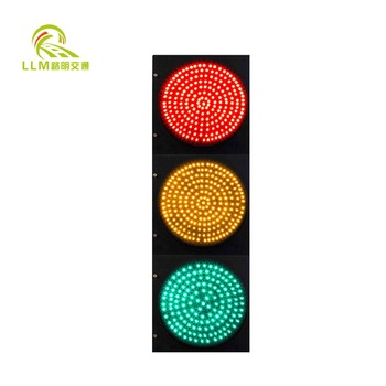 Perfect durable 300mm pedestrian warning led trafic light