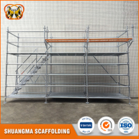 Types of metal scaffolding ringlock system