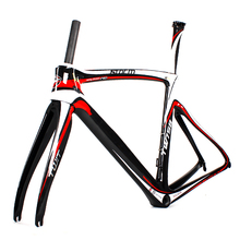 Oem Design Light Weight 700c Carbon Road Bike Frames With BB60 Press