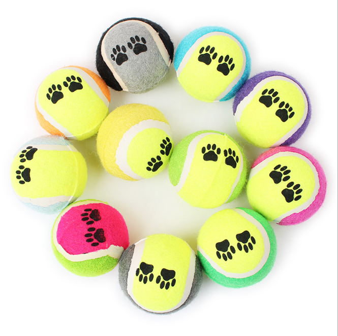 Pet Dog Toy Tennis Ball Thrower Chucker Launcher Colorful Toy Outdoors