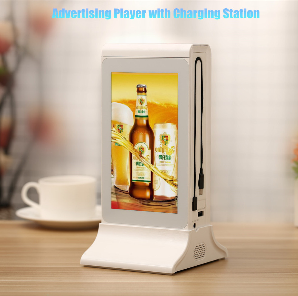 Alibaba New Product Single 7 Inch LCD Touch Screen WiFi Android Advertising Player