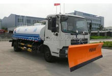 best sale snow plow truck with sweeper for Kyrghyzstan