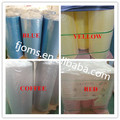 Transparent lamination film appliance surfaces covering