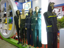 Heavy Duty Long Vinyl PVC Raincoats With Reflective Strips