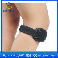 Sports patella knee strap/Adjustable Patella Knee Support One Size Fits Most