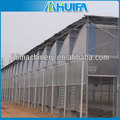 High quality Muiti span 4/8/10/12/16/20mm 5 wall clear polycarbonate sheet for greenhouse