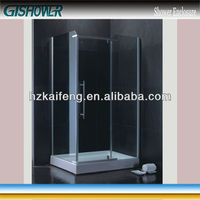 Walk In Frame Hinge Fiberglass Bathroom Door (KF104A)