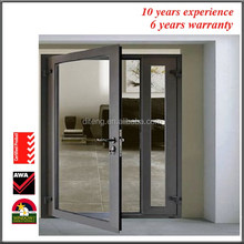 "36"" x 80"" Sliding Patio Doors From Aluminum Door Manufacturers Cheap Custom Aluminum Single Used Exterior French Doors for Sale"