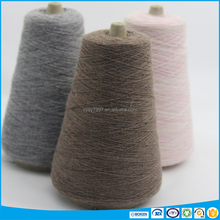 angora yarn of wool knitting cone dyed for glove