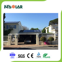 MCS approved 290w solar electric panel suitable for solar air conditioning