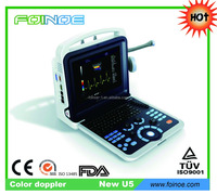 NEW U5 HOT selling ce approved Portable color doppler ultrasound machine price