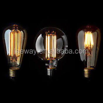 8W G95 G125 Globe Decorative Vintage Led Edison filament Bulb