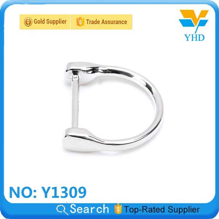 metal bag hardware square ring