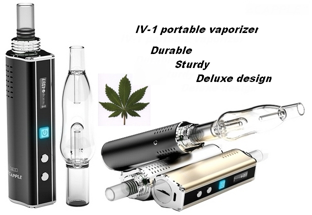 Ecapple IV-1 intelligent vaporizer The King of dry herb vaporizer can do vaporizer oem order good quality