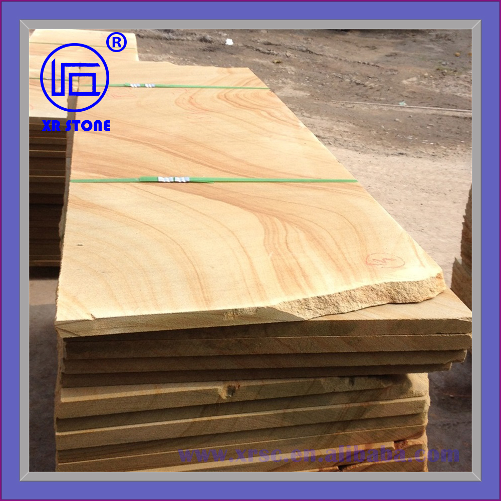 yellow color paving stone slabs
