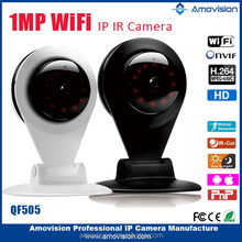 WIFI IP camera price under USD 40 QF505 wifi H.264 720P USB port slot and support sd card wifi camera