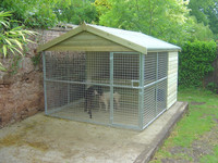 Excellent Quality Factory Direct Sales Dog Kennels Galvanized
