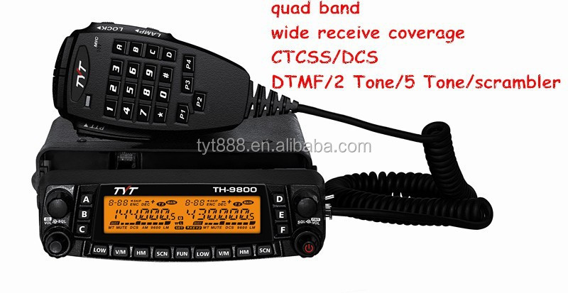 Like YAESU FT-8900R 50W 26-33 & 66-88 & 134-174 & 400-480MHz/ 26-33 & 47-54 & 136-174 & 220-260MHz mobile radio TH-9800