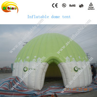 purple portable inflatable dome tent big inflatable dome house