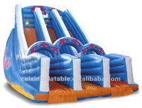 New design inflatable slide pool made in China