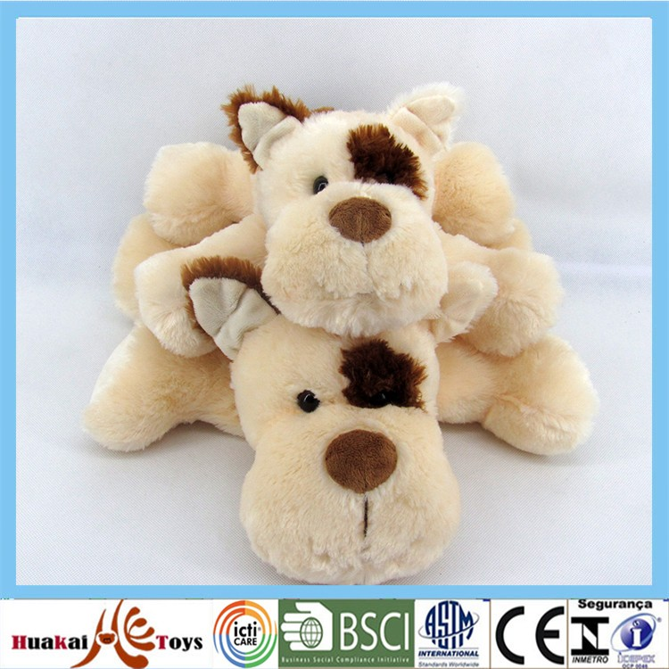 "GDX6037-1/2 12""+14"" Plush soft long pile material cute dog toy"