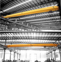 Construction Lifting Equipment LD Electric Single Girder Overhead Crane With CE