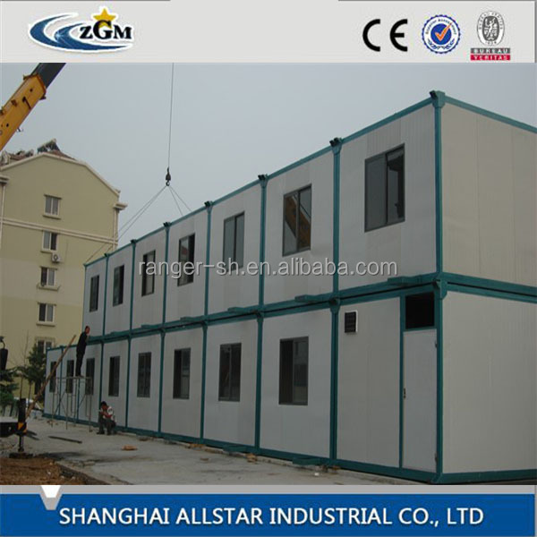 SH Cheap ready made modular luxury 40ft container house prefab shipping living container house for sale