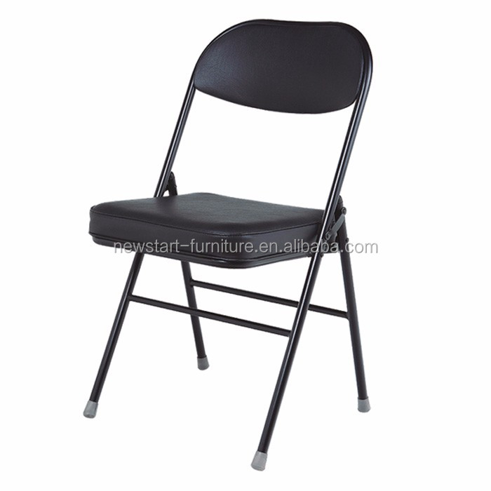 Black Leather Folding Chairs Buy Folding Chairs Leather Folding Chairs Blac