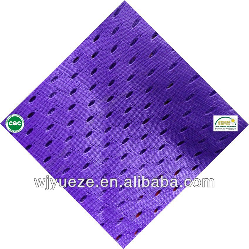 100% Polyester Mesh Fabric knitted fabric for clothes
