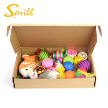 SPRILL Amazon Box Packing 20pcs pack cat toys