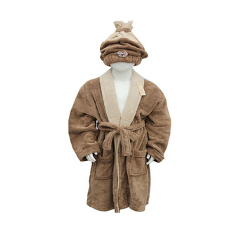 2018 Manufacture Supplier Coral Adults Bathrobe for men
