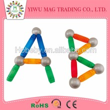 Colorful new magnetic balls and sticks toys