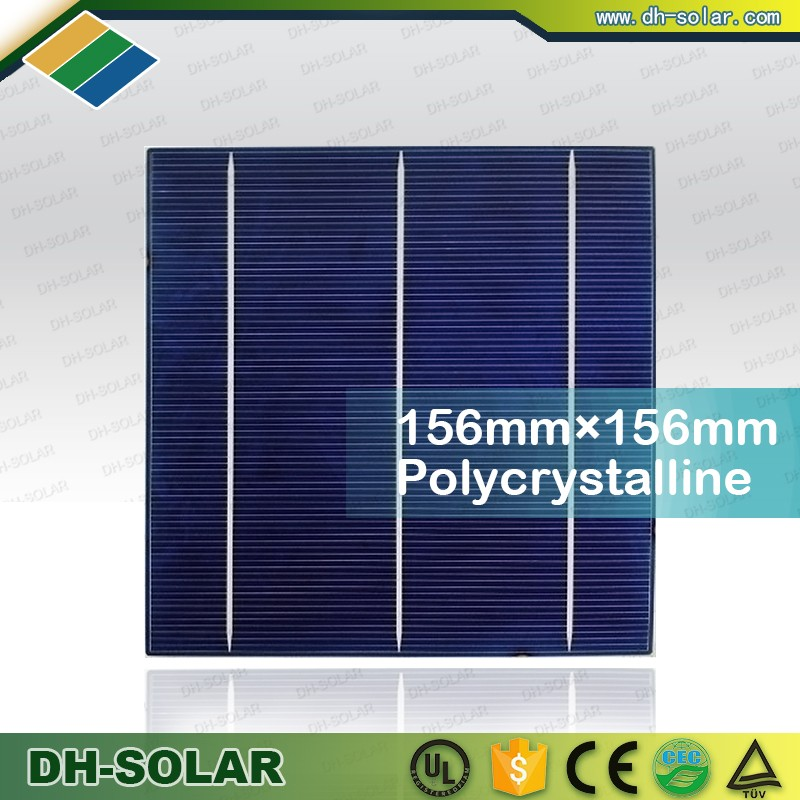 High Efficiency 6 inch Poly Solar Cell Solar Cell Chip for Solar Module