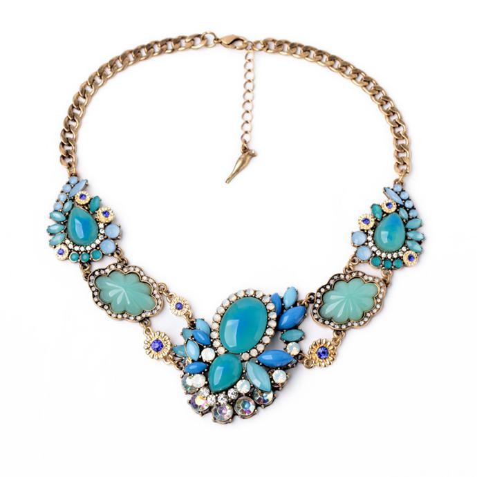 2015 Hot ladies gold chain necklace, Wholesales fashion vintage necklace chain