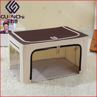 2016 Wholesale Household Items Foldable Box Storage Stool For Clothes And Toys