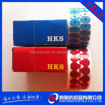 competitive price colorful custom size lens blocking edging pads HKS(OEM)