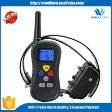 Rechargeable And Waterproof Remote Control Lcd Display 4 Modles Electric Dog Yard Trainer Equipment China Supplier