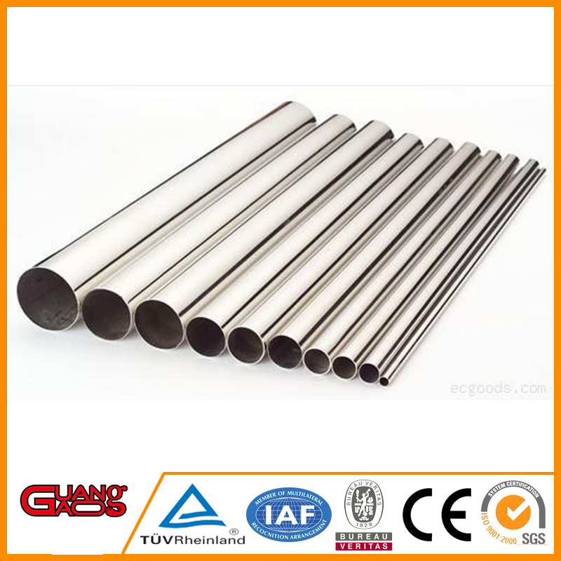 China high quality erw stainless steel pipe/tube 24 supplier reasonable price