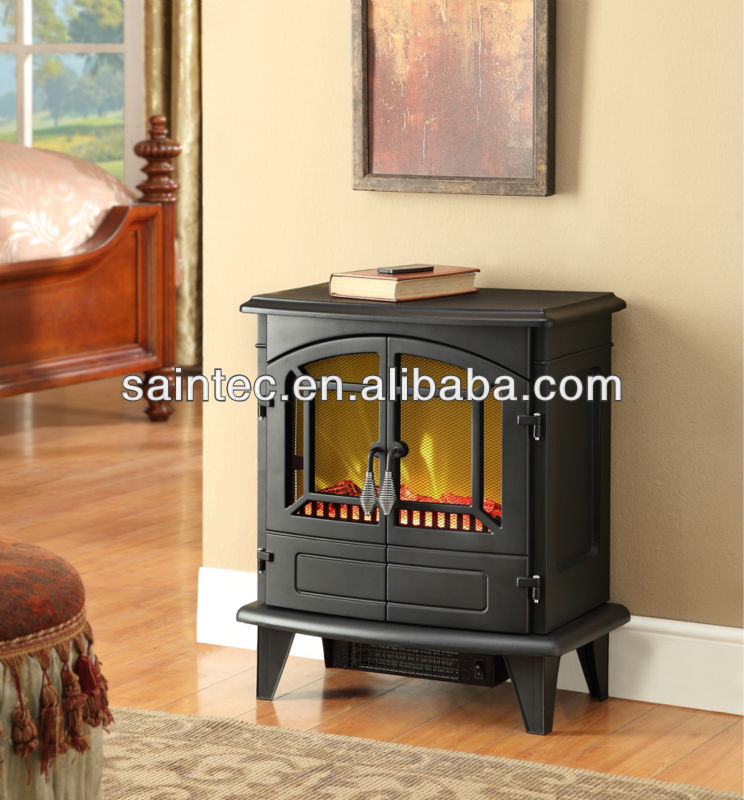 Portable Freestanding Electric Fireplace Stove