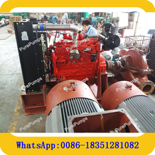 Fire Fighting Equipment Emergency Trailer Portable Diesel Engine Driven Fire Hydrant Sprinkler Pump