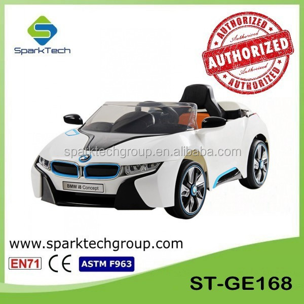 Licensed BMW I8 Baby Motor Car, Battery Charged Cars Kids, BMW Electric Kids Car