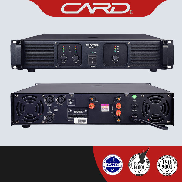 CE CCC Approved good performance digital power amplifier dsp